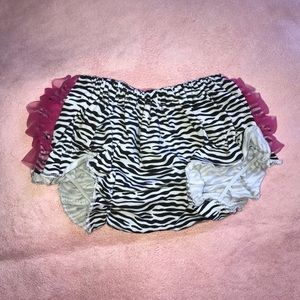 Other - Zebra Printed Baby Bloomers